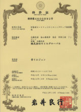 Japanese Patent for New Mixing Tips