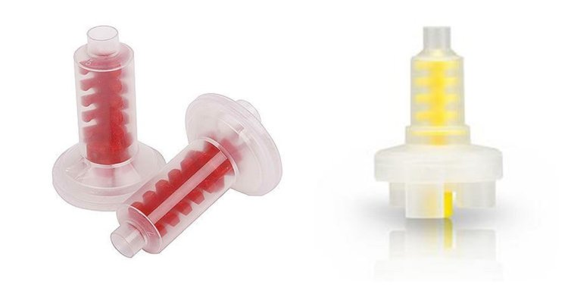 Автоматические смесительные насадки New Auto Mix Tip S134/Yellow S135