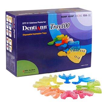 Набор стоматологических оттискных ложек DentiAnn Tray100